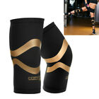 Copper Fit Pro Series Performance Compression Knee Sleeve Sport Brace L / XL