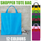 Basic Shopper Tote Bag Shopping Handles Beach Reusable Bag for Life Canvas