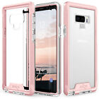 Samsung Galaxy Note 9 Case, Zizo ION Shockproof with Full Glass Sreen Protector