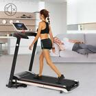 Heavy Duty Fitness Walking Running Machine Electric Treadmills Calorie Monitor