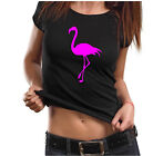 Damen T-Shirt mit Flamingo Motiv,Größe S - 2XL,Flamingo,Damenshirt,Print #1,Top