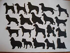 8 VINYL SELF ADHESIVE GLOSS  DOGS ANY BREED  MEASURE APP  7.5cm