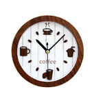 3D Retro Alarm Clock Wood Small Alarm Clock Creative Desktop Mute Clock Decor
