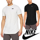 Nike Men&#039;s Modern T-Shirt Short Sleeves Black/White Crew Neck Swoosh  <br/> ✅ CLEARANCE SALE ✅ RRP &pound;25 ✅ FREE UK SHIPPING ✅