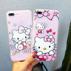 Cute Hello Kitty Cartoon Soft TPU Back Case Cover for iPhone X 8 7 6 6s plus