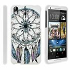 For HTC Desire 816 / HTC Desire 8 Hard Fitted 2 Piece Snap On Case White