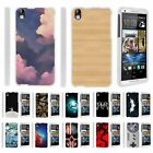 penny board phone case - For HTC Desire 816 / HTC Desire 8 Hard Fitted 2 Piece Snap On Case White