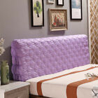 Silk Stretch Headboard Cover Protector Soft Bedroom Decor Dust Cover 200cm