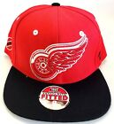New NHL Detroit Red Wings Embroidered Fitted Cap $14.99 USD on eBay