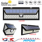 Mpow 102/54/20 LED Solar Motion Sensor Security Wall Lights for Garden Lighting