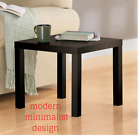 Small Coffee End Table Modern Living Room Sofa Side Office Durable White or Dark