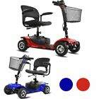 4 Wheel Power Scooter Electric Drive Scout Mobility Disability Elderly 2color-BE
