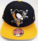 New NHL Pittsburgh Penguins Embroidered Fitted Cap $14.99 USD on eBay