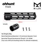 "Ohhunt 7"" 9"" 10"" 12"" 13.5"" 15"" 17"" Free Float M-LOK Hand guard Rail W/ Steel NutScope Mounts & Accessories - 52510"