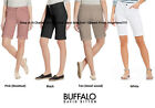 Buffalo Ladies' Bermuda Mid-Rise Short, Super Soft, Choose Color / Size, NWT