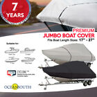 Premium Heavy Duty T-Top Boat Cover