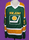 MIKE ERUZIONE 15 TOLEDO GOALDIGGERS RETRO HOCKEY JERSEY SEWN NEW ANY SIZE