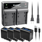 Kastar F980 Battery Rapid Charger for Sony NP-F960 & DCR-TR7 HVL-ML20 MPK-DVF4