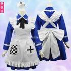 Anime Rosa Kirkland Cosplay Dress Maid Uniform Halloween Costume Pink Skirt Suit