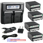 Kastar Battery Quick Charger for Sony NP-F990 CCD-TRV26 CCD-TRV27 CCD-TRV300