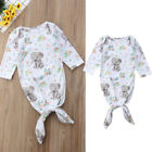 Toddler Newborn Baby Girls Floral Elephant Sleeping Bags Swaddle Wrap Outfit Set