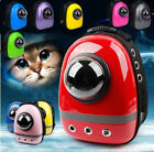 New Pet Dog Cat Astronaut Backpack Space Capsule Breathable Outdoor Carrier Bag