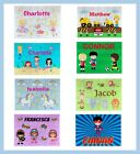Personalised Children's Kids Printed Hardboard MDF Wooden 30pc Jigsaw Puzzles