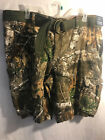 """REALTREE PATTERN CARGO HUNTING CAMPING SHORTS 11""""INSEAM W BELT SIZE 40 42 44 46"""
