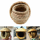 Small Bird Cage Parrot Parakeets Canaries Finch Pet Handwoven Straw Nest House