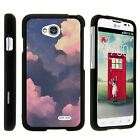 For LG Optimus L70 / LG Ultimate 2 / LG Realm Hard Fitted 2 Piece Snap On Case