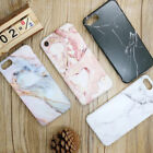 Elegant Pastel Marble Pattern Shockproof Soft Cover Case For iPhone X 8 6 7 Plus