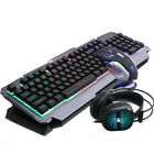 Wired USB Gaming Keyboard+ Gamer PC Mouse+Headphone Sets Combo For Laptop PC