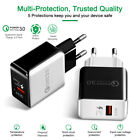 2.0 USB Wall Charger Quick Charge 3.0 Fast Travel Charger For Samsung