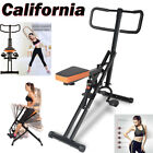 2 Types Power Rider Total Crunch Body Fitness Horse Abdominal Crunch Machine MA