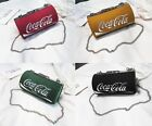 Girls Coca Cola Coke Can Bag Crossbody PU Messenger bag Shoulder Purse Xmas Gift $19.99  on eBay