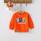 Kids Baby Girl Tops Clothes Clothing Toddler Girls T-shirts Pullover Sweatshirts