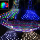 3x2m/6x4m Led Net Lights Garden Mesh Curtain Christmas Tree Wedding Party Decor