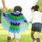 Kids Fairy Bird Wings Costumes Feathered for Boys Girls Dress up Party Decoratio