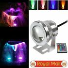 Outdoor Underwater Lighting 10W RGB LED Spotlight Color Changing Fountain Lamp
