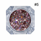 Holographic Nail Art Glitter Powder Dust UV Gel Acrylic Sequins Manicure Tips <br/> Holo Shiny Glitter Powder ! Sold Out 6000+ !
