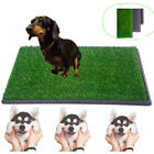 2 Size Pet Potty Trainer Grass Mat Dog Puppy Training Pee Patch Pad Toilet