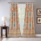 Barefoot Bungalow Olympia Mediterranean Medallion Curtain Panel Pair image
