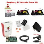 Raspberry Pi 3 Model B Case 32g 2 Player Joystick Arcade Game Kit G3004