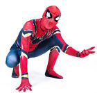 Iron Spiderman Fasching Kinder Overall Spinne Cosplay Jungen Herren Kostüm