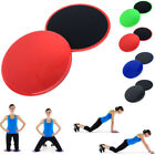 2-pack Dual Sided Fitness Gliding Discs Core Sliders Home Gym Abs Leg Workouts