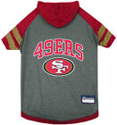 San Francisco 49ers NFL Pets First Sporty Dog Pet Hoodie Tee Shirt Sizes XS-L $22.45 USD on eBay