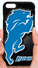 DETROIT LIONS NFL PHONE CASE COVER FOR iPHONE XS MAX XR X 8 7 6 6S PLUS 5S 5C 4S $14.88 USD on eBay