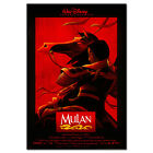 Mulan Poster - Disney Animation -Theatrical Official Art - High Quality Prints