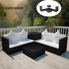 14 Pcs Stylish Garden Table And Chairs Poly Rattan Sofa Set Patio Furniture Us