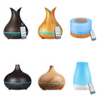 NEW 500ML Remote Control LED Ultrasonic Humidifier Essential Oil Aroma Diffuser